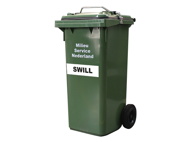 Rolcontainer 120 liter swill