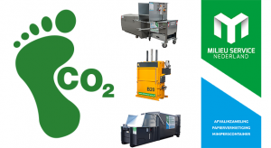 Afvalperscontainer - Balenpers - Miniperscontainer - CO2-Footprint
